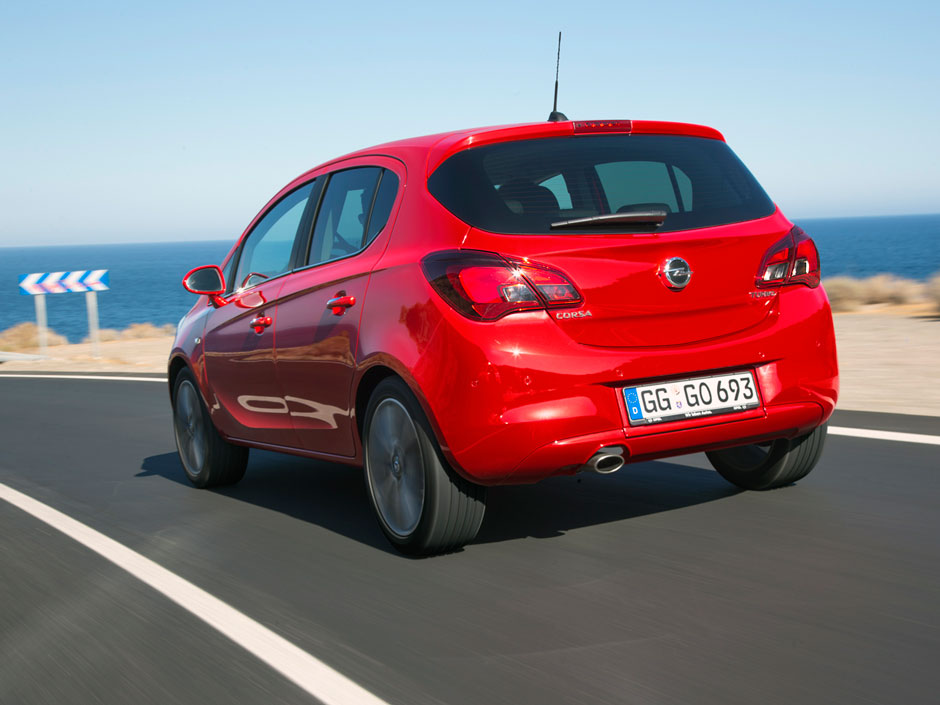 Opel Corsa Prive Lease LCX Lease Achter