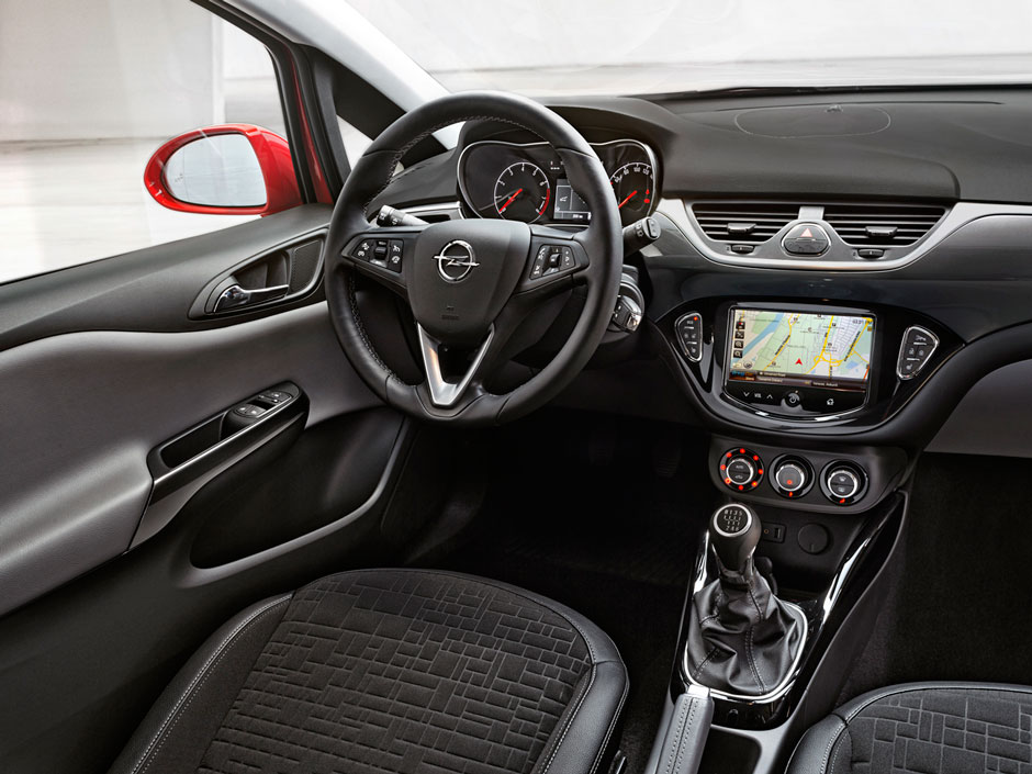 Opel Corsa Prive Lease LCX Lease Interieur