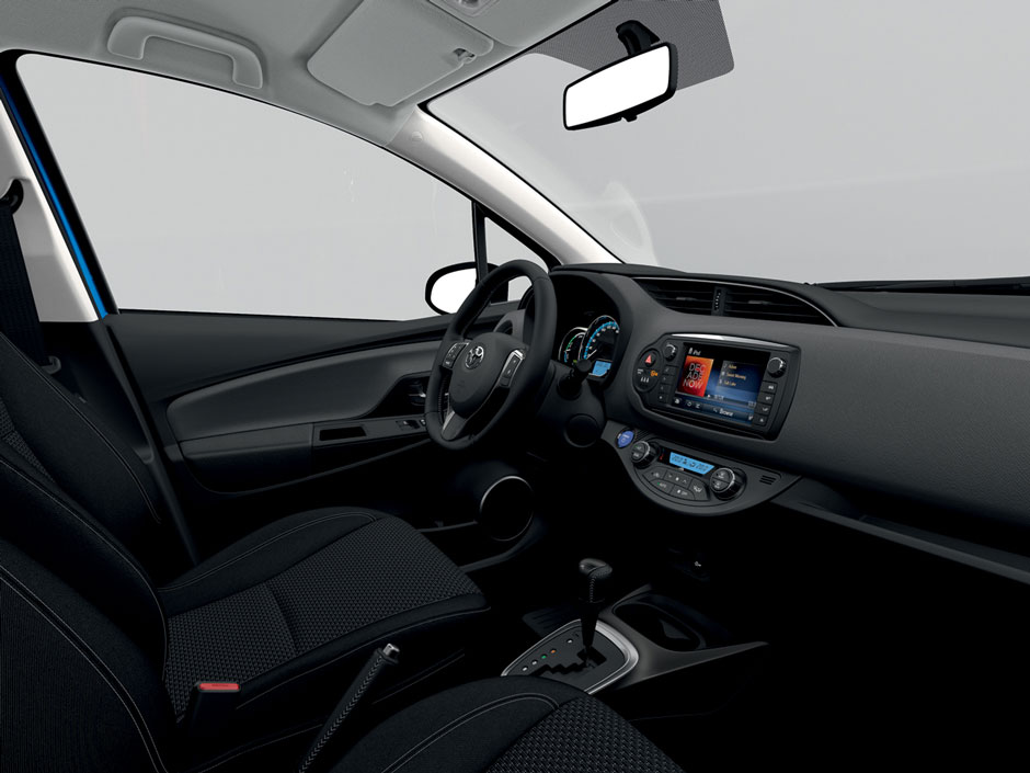 Toyota Yaris Prive Lease LCX Lease Interieur