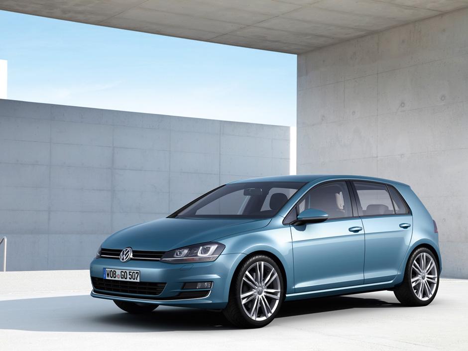 Volkswagen Golf Leasen LXC Lease Blauw 2