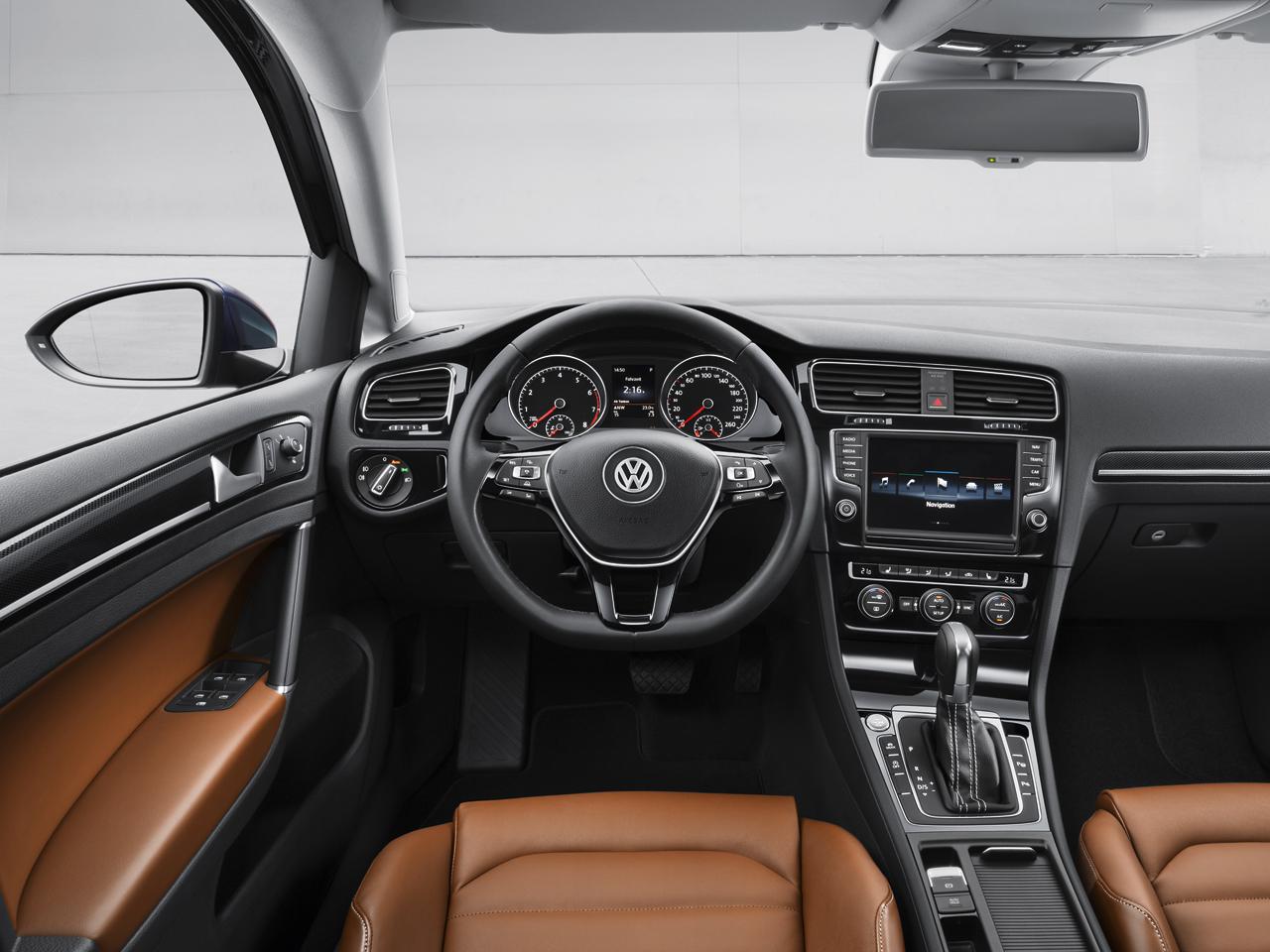 Volkswagen Golf Leasen LXC Lease Interieur