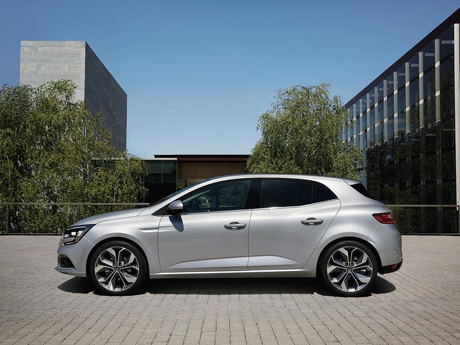 Renault Megane prive lease zij