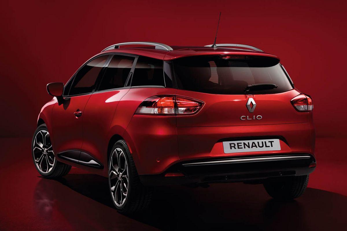 Renault Clio Estate prive lease achterkant