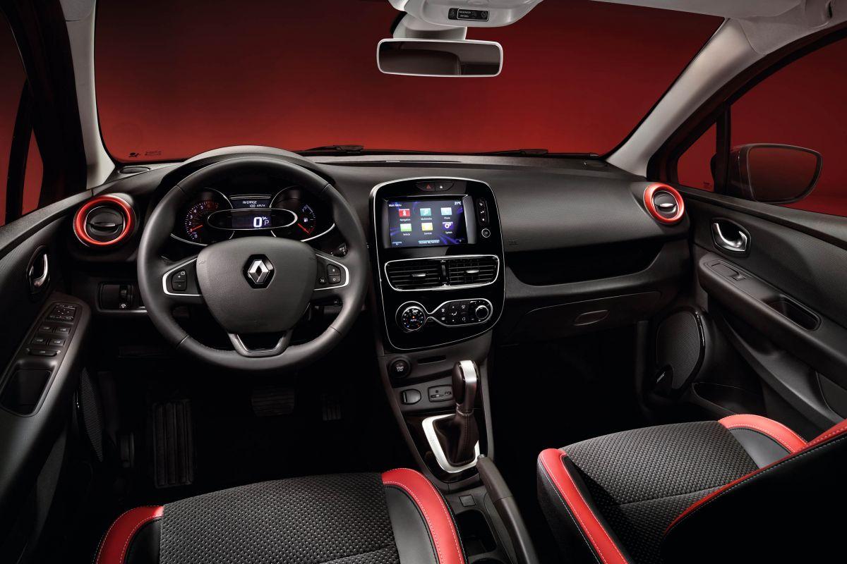 Renault Clio Estate prive lease interieur