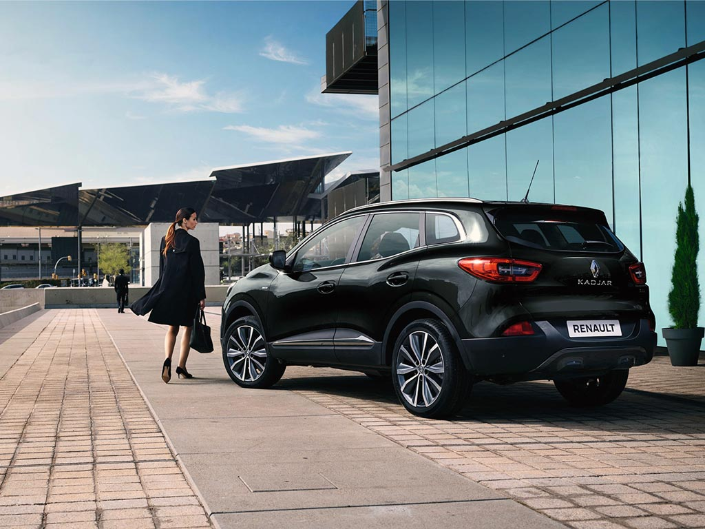 Renault Kadjar prive lease LCX Lease Zwart