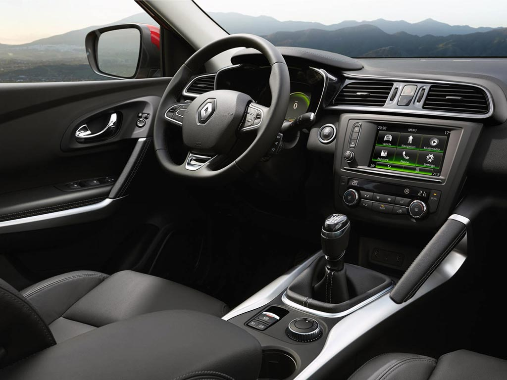 Renault Kadjar prive lease LCX Lease Interieur