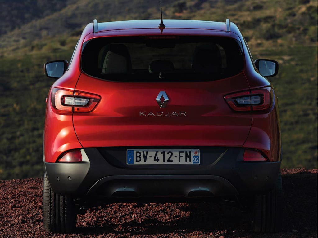 Renault Kadjar prive lease LCX Lease achterkant